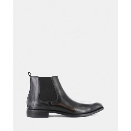 Dawson Chelsea Boots Black by Wild Rhino