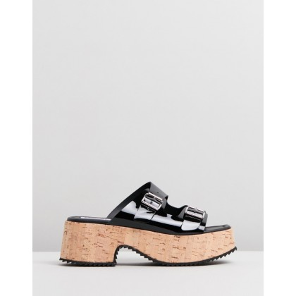 Debbie Sandals Black by Mcq By Alexander Mcqueen