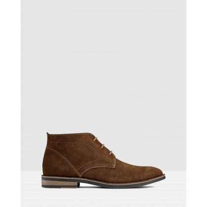 Delaney Desert Boots Tan by Aq By Aquila