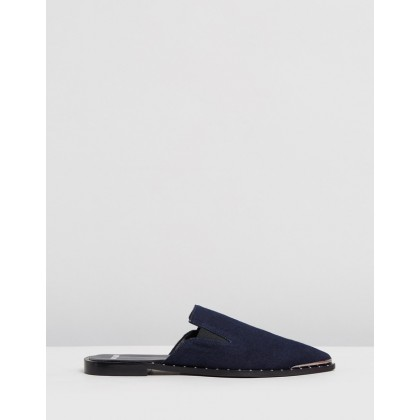 Denim Pixie Loafers Denim by Oneteaspoon