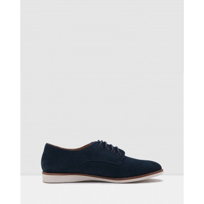 Derby Mens Shoes Navy by Rollie