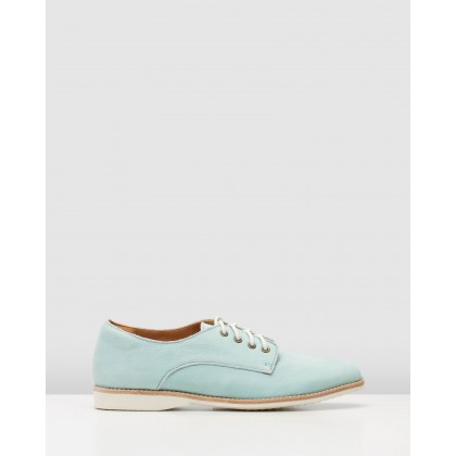 Derby Shoes Baby Blue by Rollie