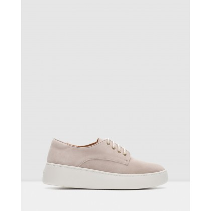 Derby Shoes Light Taupe by Rollie