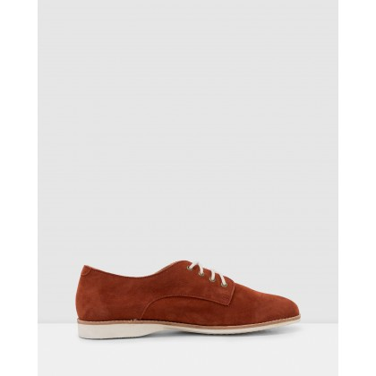 Derby Shoes Rust Tan by Rollie