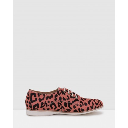 Derby Shoes Coral Leopard by Rollie