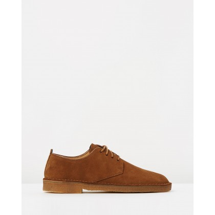 Desert London Cola Suede by Clarks Originals