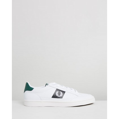 Deuce - Men's White by Fred Perry