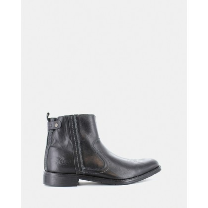 Devon Boots Black by Wild Rhino