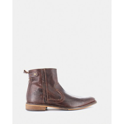 Devon Boots Dark Brown by Wild Rhino