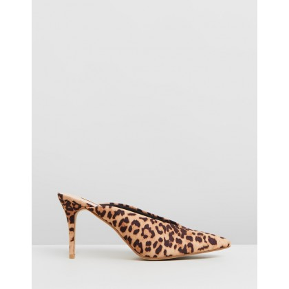 Devon Mules Leopard by Dorothy Perkins