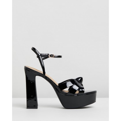 Diana Heels Black Patent by Spurr