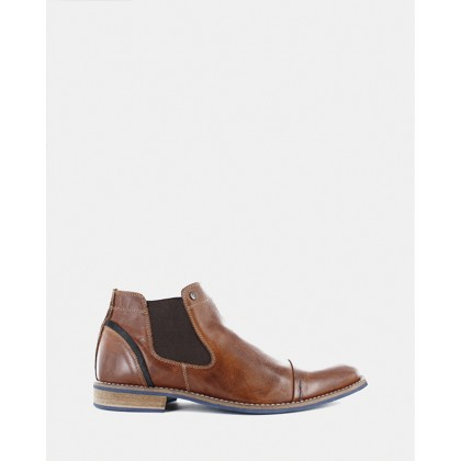 Diego Chelsea Boots Tan by Wild Rhino