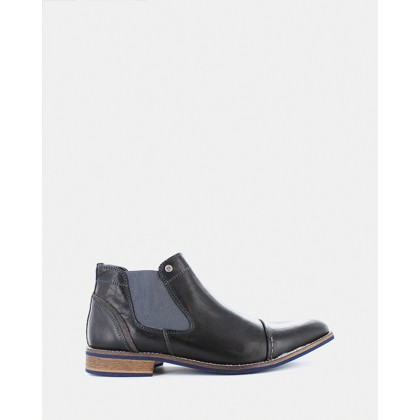 Diego Chelsea Boots Black by Wild Rhino