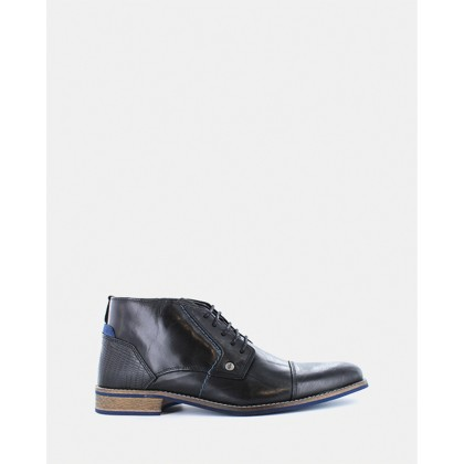 Digby Boots Black by Wild Rhino