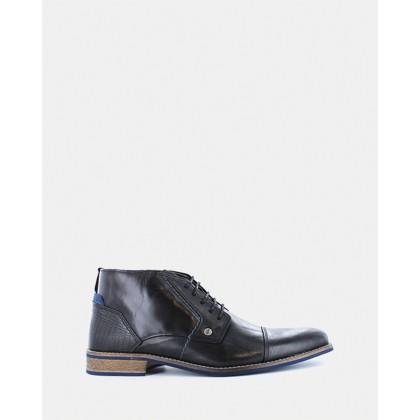 Digby Boots Black by Wild Rhino