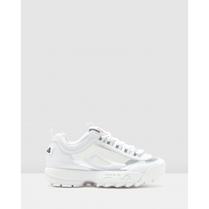 Disruptor II Clear White by Fila