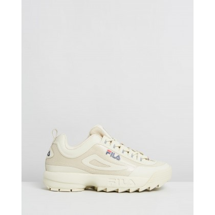 Disruptor II No-Sew - Men's Fila Cream, Fila Cream & Fila Cream by Fila