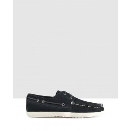 Dixon Boat Shoes Navy by Brando