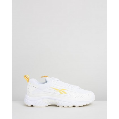 DMX Series 2K Shoes - Women's White, Chalk & Toxyel by Reebok