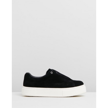 Doja - Women's Black Suede by Eytys