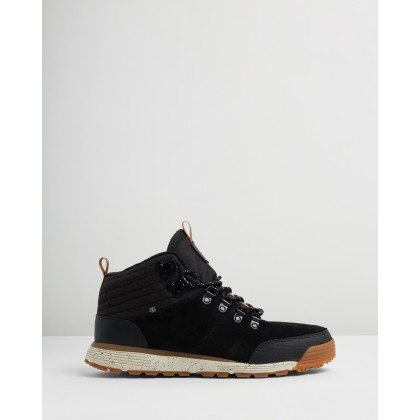 Donnelly Light Boots Black Gum by Element