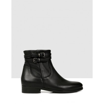 Doriana Ankle Boots NERO by S By Sempre Di