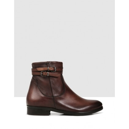 Doriana Ankle Boots CUOIO by S By Sempre Di