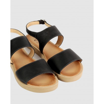 Doris Sandals 121-black by S By Sempre Di