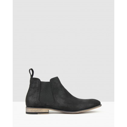 Dragon Chelsea Boots Black by Betts