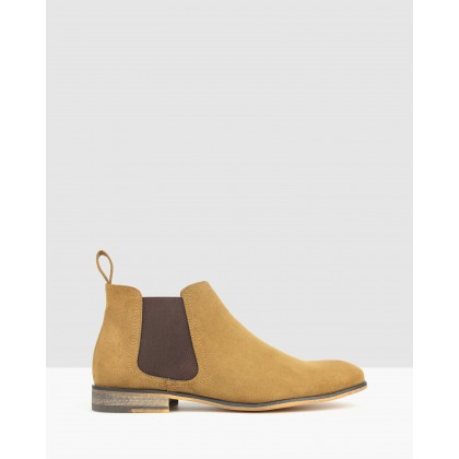 Dragon Chelsea Boots Tan by Betts