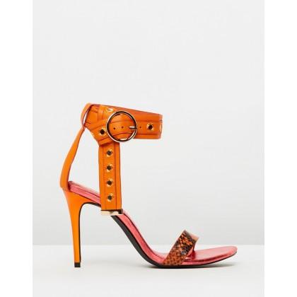 Dream Machine Sandals Orange by Sass & Bide
