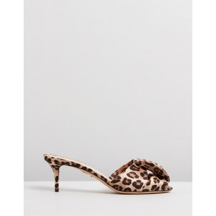 Drew Sandals Leopard by Charlotte Olympia