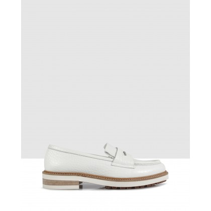Duke Loafers Bianco by Beau Coops