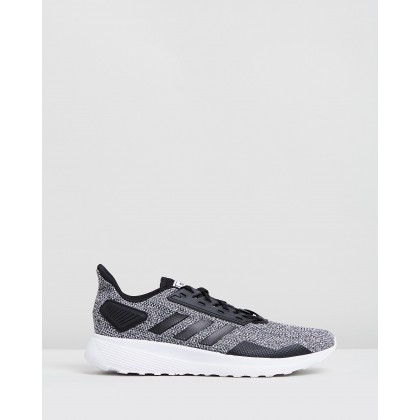 Duramo 9 - Men's Core Black & Footwear White by Adidas Performance