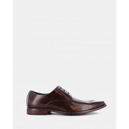 Duval Dress Shoes Dark Brown by Wild Rhino