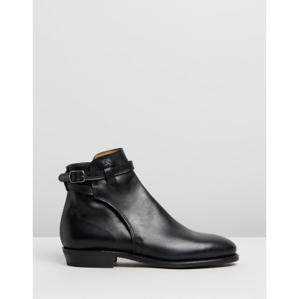 Eden Buckle Boots Black Yearling by R.M.Williams