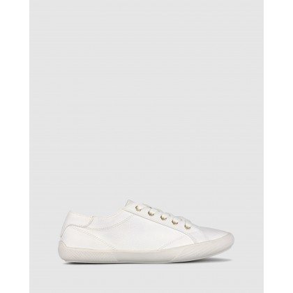 Eden Lifestyle Sneakers White Pebble by Betts