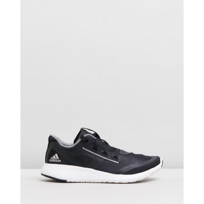 Edge Lux Clima 2 - Women's Core Black, Platinum Metal & Orchid Tint by Adidas Performance