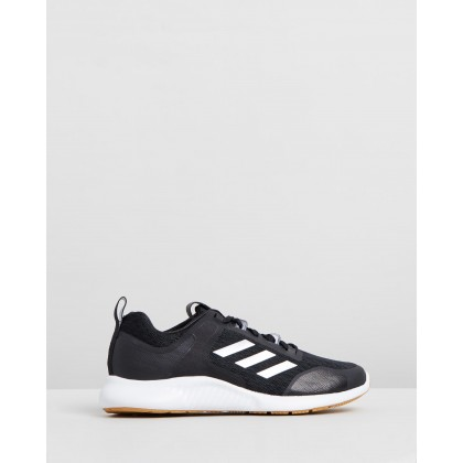 Edgebounce 1.5 - Women's Core Black, Silver Metallic & Footwear White by Adidas Performance
