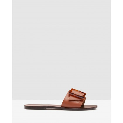 Edria Slides Cognac by Oxford