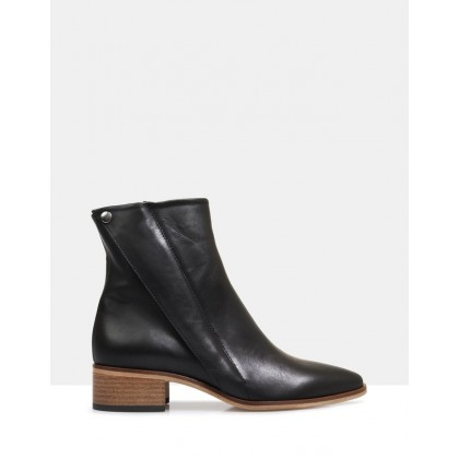 Edun Ankle Boots Black by Beau Coops