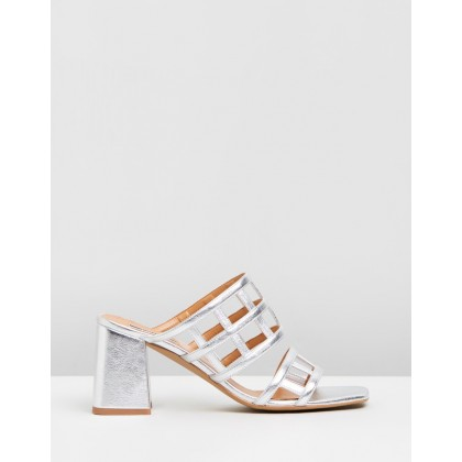 Eid Night Sandals Silver by Topshop