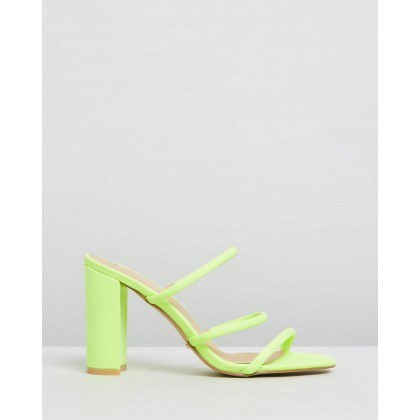 Elida Neon Yellow Lycra by Billini