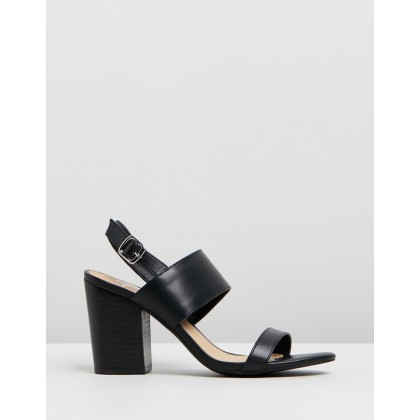 Elisia Heels Black Smooth by Spurr
