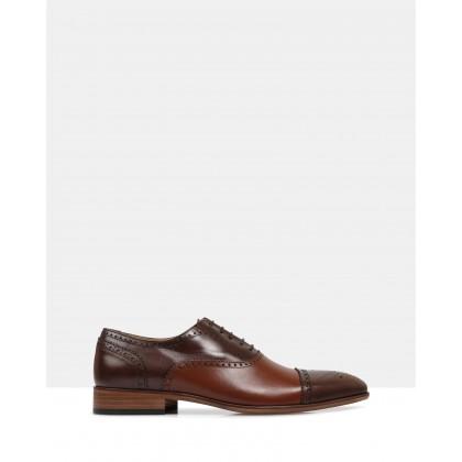 Ellington Oxford Shoes Brown by Brando