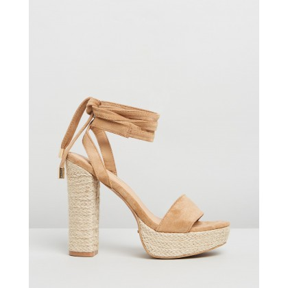 Emilie Camel Suede by Billini