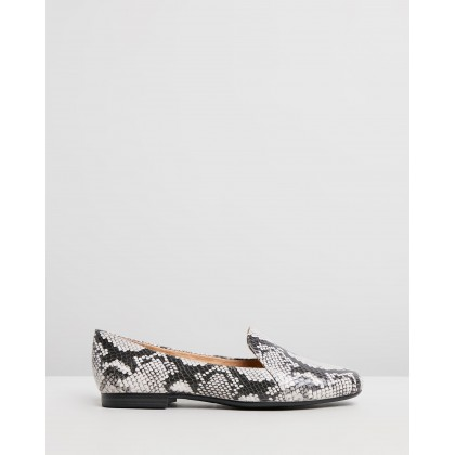 Emiline Black & White Snake by Naturalizer