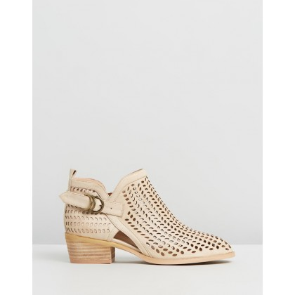 Emmers Nude Faux Leather by Ko Fashion