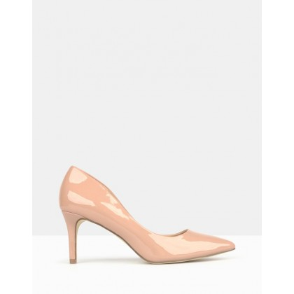 Empower Pointed Toe Pumps Blush by Betts