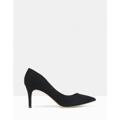 Empower Pointed Toe Stiletto Pump Black by Betts